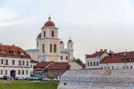 View of Church of the Holy Spirit in Vilnius photo