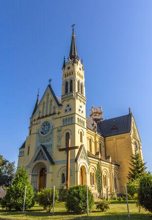 feast: Church of Feast of the Cross in Fastiv, Ukraine