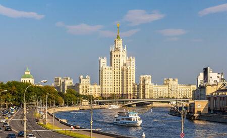 kotelnicheskaya embankment: Kotelnicheskaya Embankment Building in Moscow, Russia