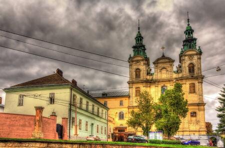 Church of St. Mary Magdalen in Lviv, Ukraine photo