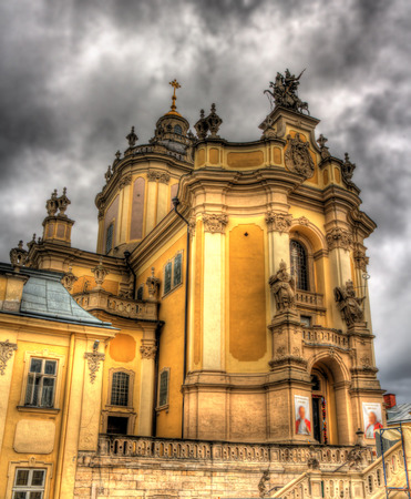 St. Georges Cathedral in Lviv, Ukraine