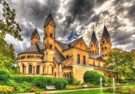 ricin: Basilique Saint-Castor Coblence, Allemagne