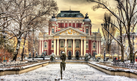 Ivan Vazov National Theatre in Sofia - Bulgaria