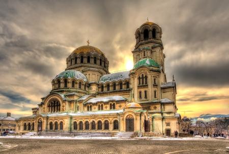 ブルガリア、ソフィアのアレクサンドル ・ ネフスキー大聖堂