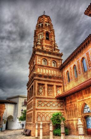 torre: Torre dUtebo (Zaragoza) in Poble Espanyol, Barcelona Editorial