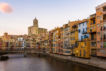 jewish houses: Girona Cathedral and Collegiate Church of Sant Feliu