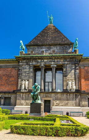 carlsberg: Ny Carlsberg Glyptotek, an art museum in Copenhagen, Denmark