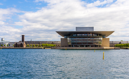 View of Copenhagen Opera House in Denmark