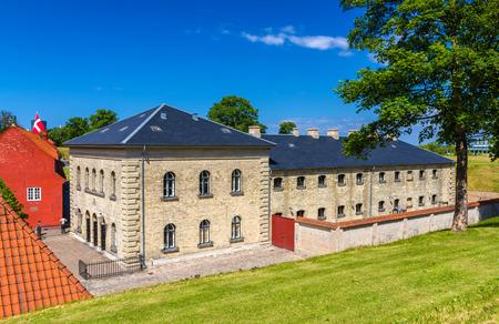 barracks: Barracks in Kastellet fortress, Copenhagen, Denmark
