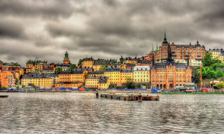 View of Stockholm city center - Sweden photo