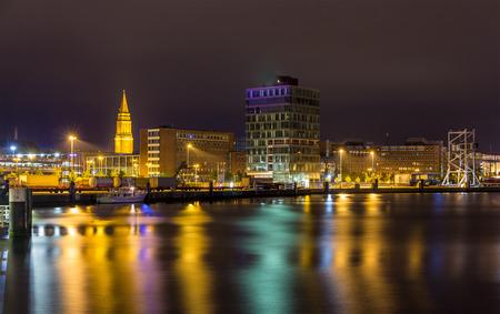 kiel: View of Kiel seaport