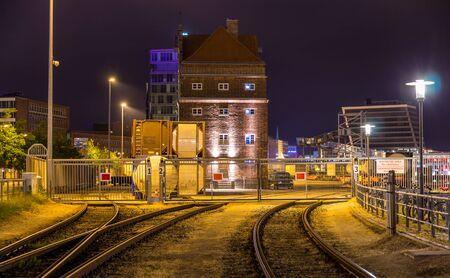 kiel: Railway to Kiel seaport - Germany, Schleswig-Holstein