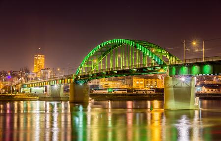 Old Sava Bridge in Belgrade - Serbia 写真素材