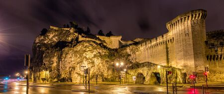 unesco: Defensive walls of Avignon, a UNESCO heritage site in France Editorial