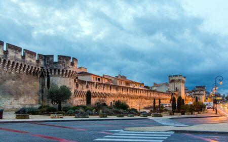 avignon: Defensive walls of Avignon Editorial