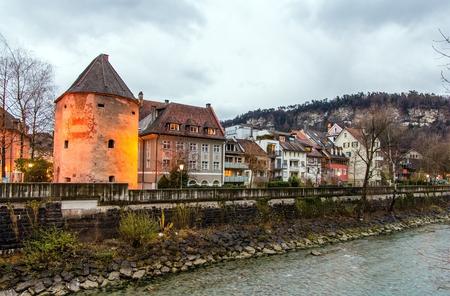 townscape: Townscape of Feldkirch - Austria