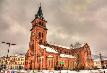 Saint Martin Chruch in Saint-Die-des-Vosges - Lorraine, France photo