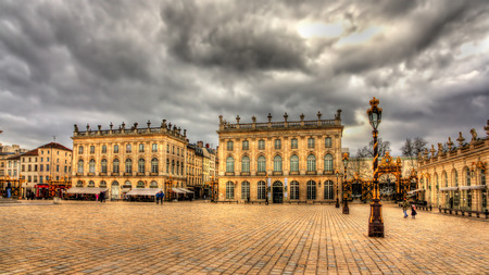 Place Stanislas in Nancy, France Stock Photo