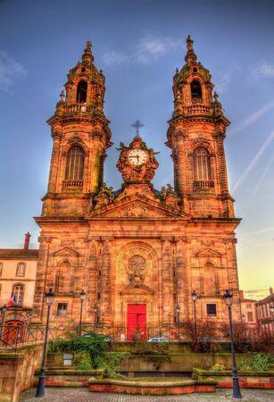 jacques: Saint Jacques chuch of Luneville - France, Lorraine Stock Photo