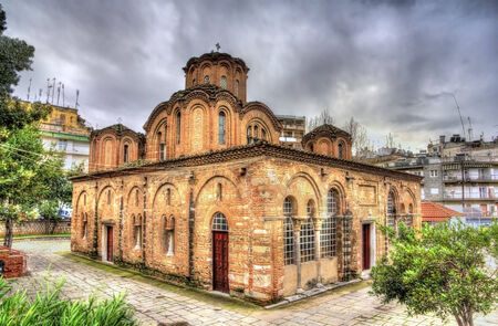 Church of the Holy Apostles in Thessaloniki, Greece