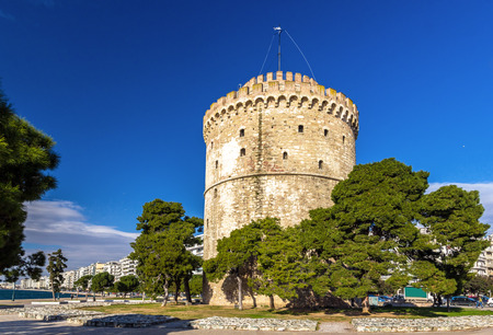 White Tower of Thessaloniki in Griechenland