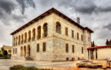 Byzantine and Christian Museum in Athens, Greece