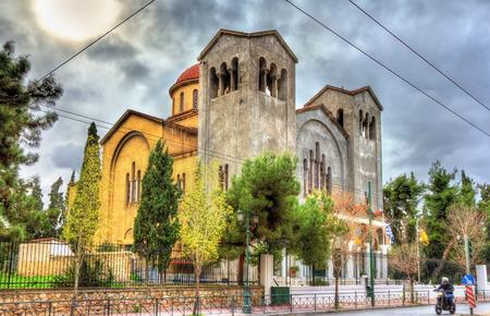 trinity: Church of Holy Trinity in Athens - Greece Stock Photo