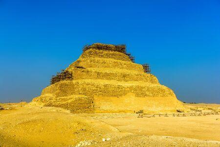 djoser: The Step Pyramid of Djoser at Saqqara - Egypt