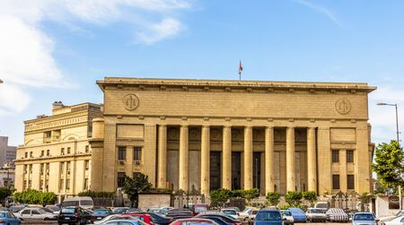 egypt revolution: Egyptian High Court of Justice in Cairo Stock Photo