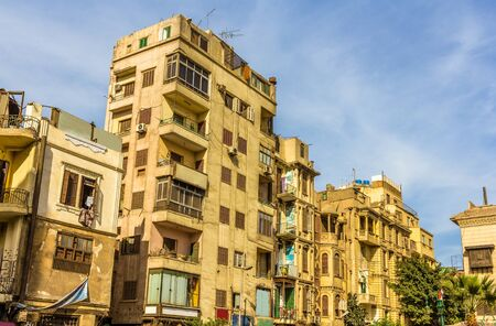 egypt revolution: Buildings in the Islamic district of Cairo - Egypt