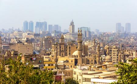 Vue du Caire islamique - Egypte Banque d'images - 36950403
