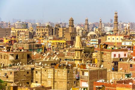Blick auf das islamische Kairo - Ägypten