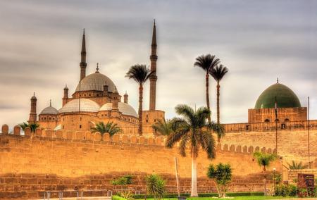 sultan: Citadel of Sultan Saladin al-Ayyuby in Cairo - Egypt