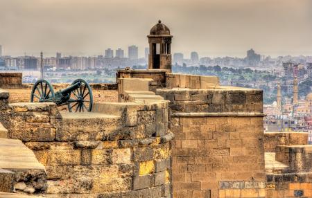 egypt: Walls of the Saladin Citadel of Cairo - Egypt