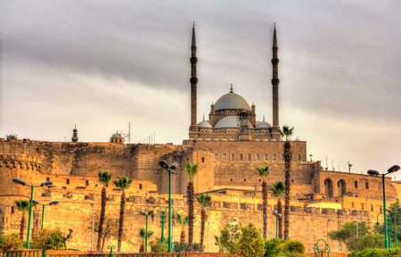 mohammed: The great Mosque of Muhammad Ali Pasha in Cairo - Egypt