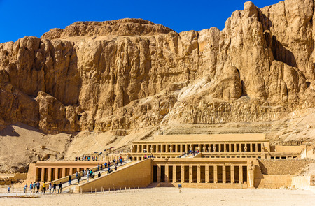 mortuary: Mortuary temple of Hatshepsut in Deir el-Bahari - Egypt