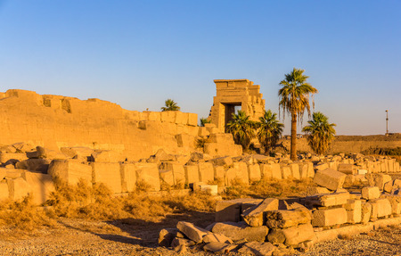 View of the Eastern Gate in the Karnak temple - Egypt photo
