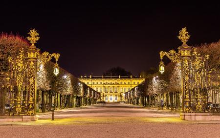 Place de la Carriere, UNESCO heritage site in Nancy, France