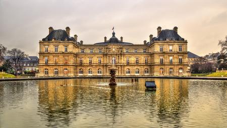 du: Palais du Luxembourg - Senate of France - Paris