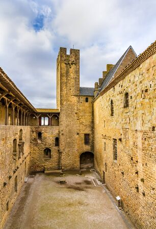 fortifications: Fortifications of Carcassonne - France, Languedoc-Roussillon