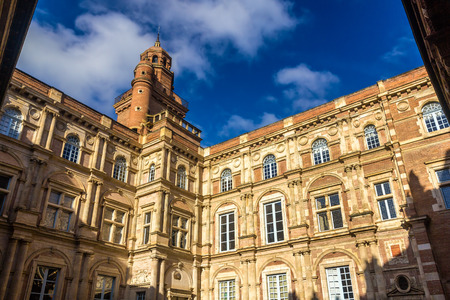 real renaissance: Hotel dAssezat in Toulouse - France Editorial