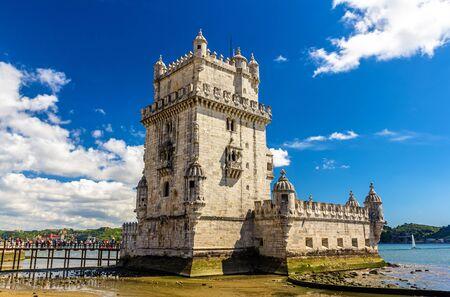 belem: Belem tower in Lisbon - Portugal Editorial