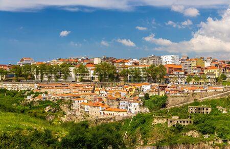 douro: View of Porto over the river Douro - Portugal