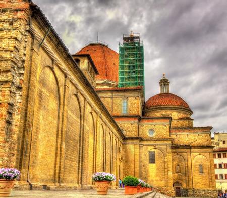 lorenzo: Basilica of San Lorenzo in Florence - Italy