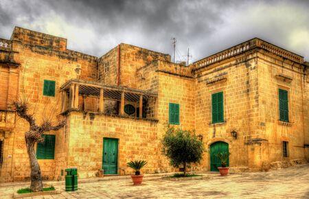 View of Mesquita Square in Mdina - Malta