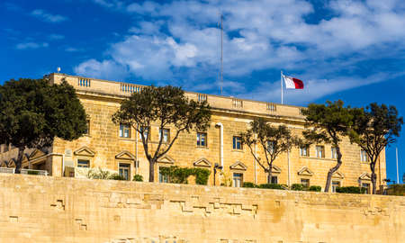 buisiness: Administrative building in Valletta - Malta