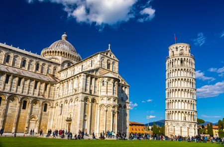 The Cathedral and the Tower of Pisa - Italy