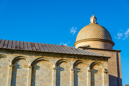 campo dei miracoli: Camposanto Monumentale building in Pisa - Italy Stock Photo