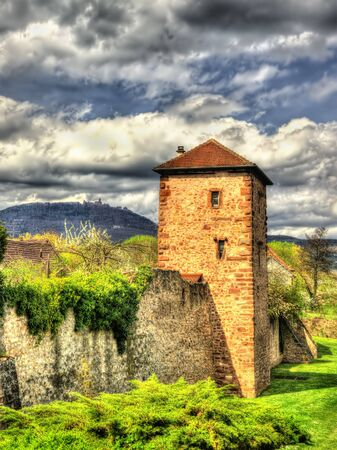 fortifications: Medieval fortifications of Bergheim - Haut-Rhin, France