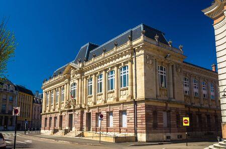 belfort: Palace of justice in Belfort - France Editorial